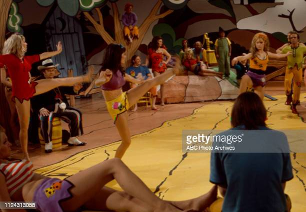 Cast performing appearing in the Walt Disney Television via Getty Images tv movie 'Li'l Abner'