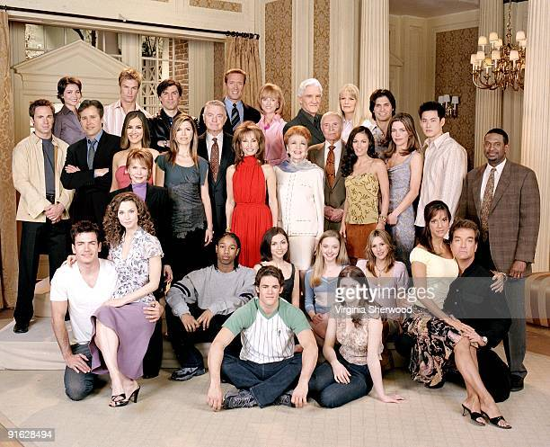 CHILDREN cast photo of 2003 4/9/03 Pictured top row left Olga Sosnovska Marc Menard Vincent Irizarry Walt Willey Jill Larson David Canary Marcy...