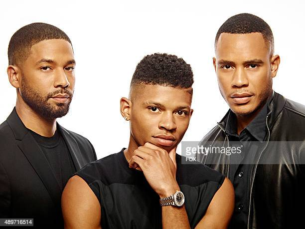 Cast Pictured LR Jussie Smollett as Jamal Lyon Bryshere Gray as Hakeem Lyon and Trai Byers as Andre Lyon in EMPIRE Season Two premieres Wednesday...
