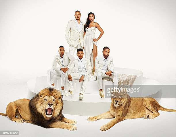 Cast Pictured LR Trai Byers as Andre Lyon Bryshere Gray as Hakeem Lyon and Jussie Smollett as Jamal Lyon Terrence Howard as Lucious Lyon and Taraji P...