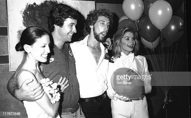 Cast portrait at the premiere of the film 'Alice In Wonderland An XRated Musical Fantasy' at the Eastside Cinema New York New York August 1976...
