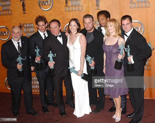 CSI cast Robert David Eric Szmanda Paul Guilfoyle Jorja Fox William Petersen Gary Dourdan Marg Helgenberger and George Eads