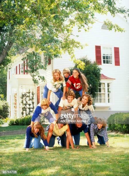 ENOUGH Cast Season One 8/25/77 The Bradford family top row left Nancy Nicholas Elizabeth middle Joannie Tommy Mary bottom Susan David Tom Abby