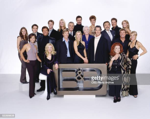 BEAUTIFUL cast shot 2004 Seated left to right Adrienne Frantz Darlene Conley First Row left to right Sydney Penny Lorenzo Lamas Jack Wagner Katherine...