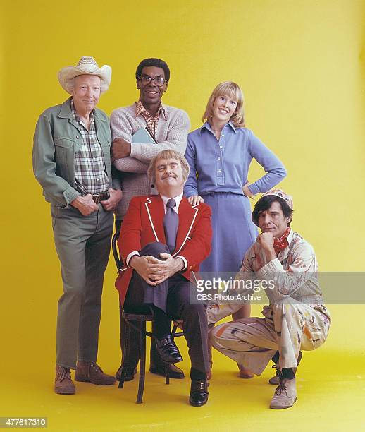 Cast shot of CAPTAIN KANGAROO Hugh 'Lumpy' Brannum Jimmy Wall Debbie Weems Gus Allegretti and Bob Keeshan Image dated August 12 1974