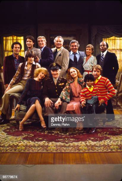 Cast shot - Season Four - 10/24/80, Top row, left: Billy Crystal , Ted Wass , Richard Mulligan , Robert Mandan , Donnelly Rhodes , Jennifer Salt ,...