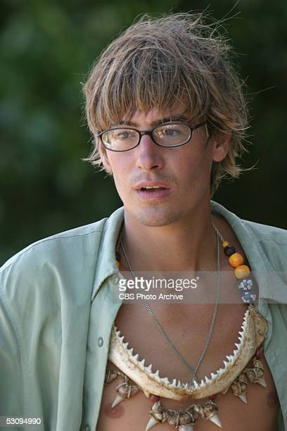 Castaway Ian Rosenberger during the first episode of SURVIVOR PALAU scheduled to air on the CBS Television Network