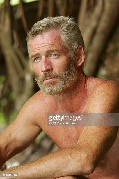 Castaway Tom Westman of the Koror tribe during the final episode of Survivor Palau