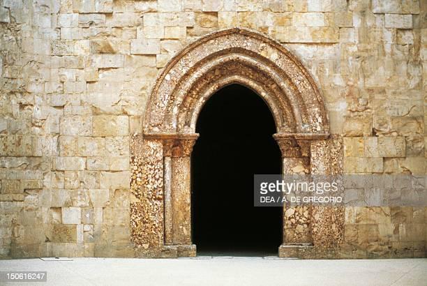 Castel del Monte, 1229-1249, , detail of a door, Andria , Apulia. Italy, 13th century.
