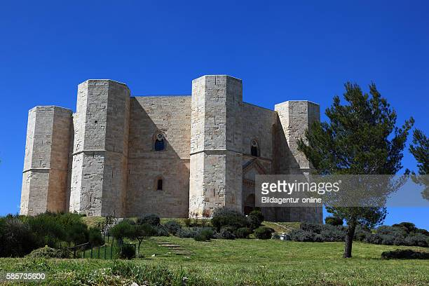 Castel del Monte castrum Sancta Maria de Monte is a building from the time of Emperor Frederick II In Puglia Italy