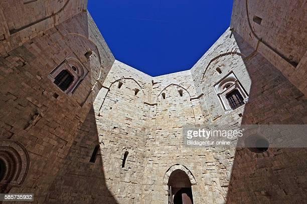 Castel del Monte, castrum Sancta Maria de Monte, is a building from the time of Emperor Frederick II. In Puglia, Italy.
