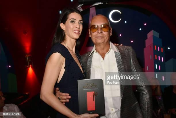 Castel director Melinda Helie and The Castel Roman de la Nuit 2018 awarded writer Valentin Cheron attend 'Ma Nuit Chez Castel' Book Signing at Castel...