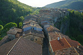 Castellfullit de la Roca- La Garrocha- Catalonia- Spain
