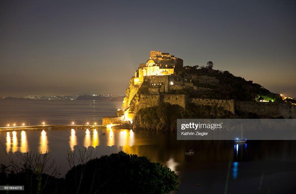 Castello Aragonese, Ischia, Italy : Stock Photo