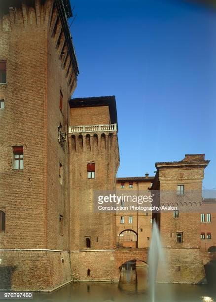 Castello Estense. Ferarra, Italy.