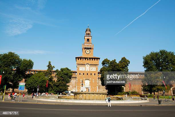 Castello Sforzesco in summer