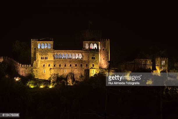 castelo de leiria - leiria district stock photos and pictures