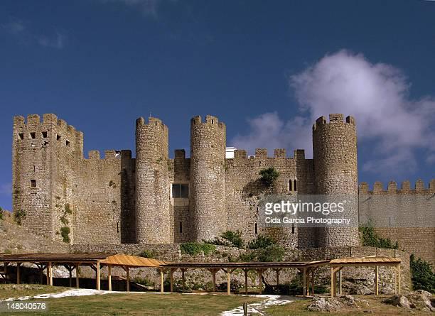 castelo de obidos - leiria district stock photos and pictures