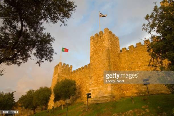 Castelo Sao Jorge battlements, Castelo.