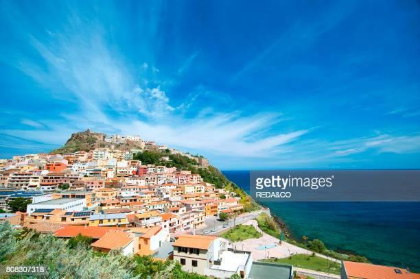Castelsardo Sardinia Italy Europe