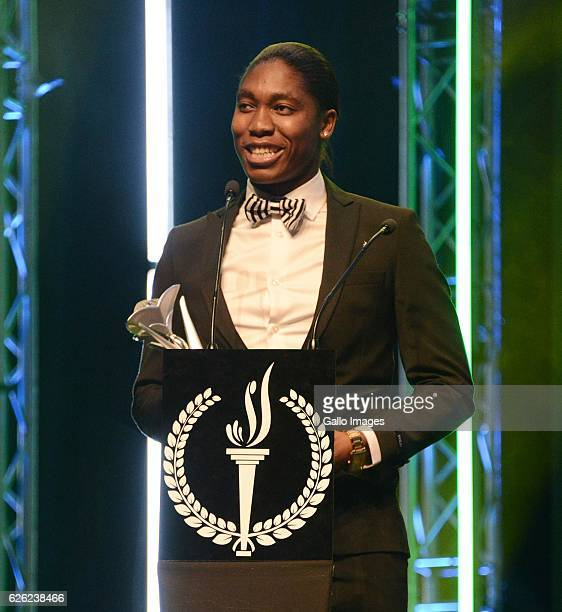 Caster Semenya during the SA Sports Awards on November 27 2016 in Bloemfontein South Africa The 2016 SA Sport Awards recognise outstanding sporting...