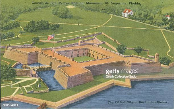 Castillo de San Marcos National Monument Saint Augustine Florida the Oldest City in the United States 1926