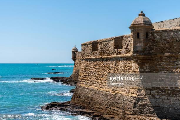 Castillo de San Sebastian or the Castle of San Sebastián, Cadiz, Spain