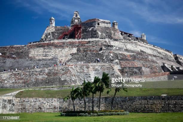 Castillo San Felipe de Barajas in Cartagena Columbia