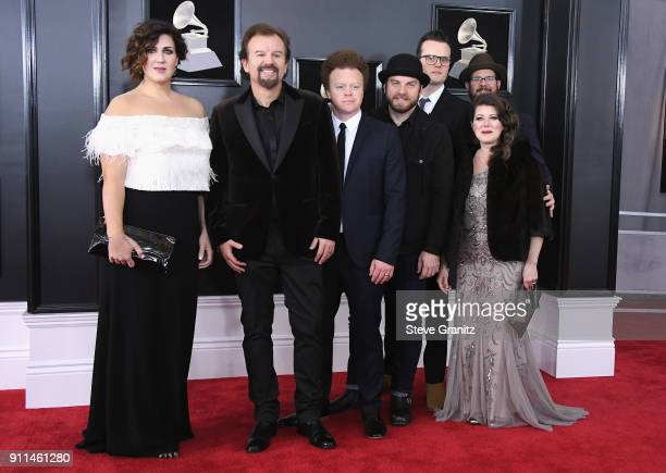 Casting Crowns attends the 60th Annual GRAMMY Awards at Madison Square Garden on January 28 2018 in New York City