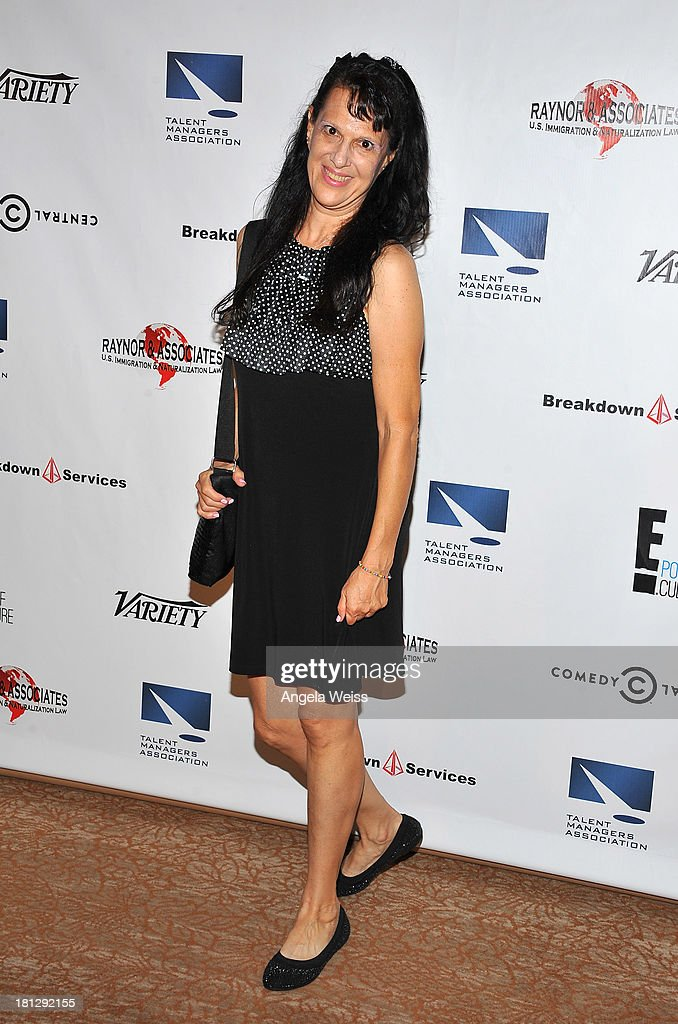Casting director Cheryl Faye attends the 12th Annual Heller Awards at The Beverly Hilton Hotel on September 19, 2013 in Beverly Hills, California.
