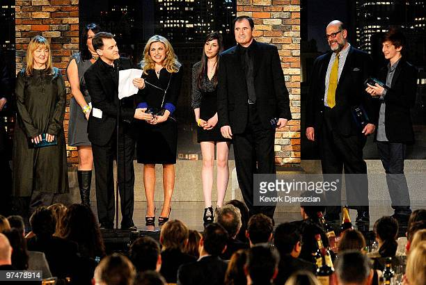 Casting director Ellen Chenoweth actor Michael Stuhlbarg casting director Rachel Tenner actors Sari Lennick Jessica McManus Richard Kind Michael...