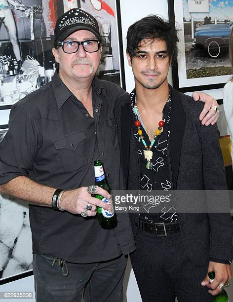 Casting director John Papsidera and actor Avan Jogia attend 'Hindsight Is 30/40 A Group Photographer Exhibition' at The Salon at Automatic Sweat on...