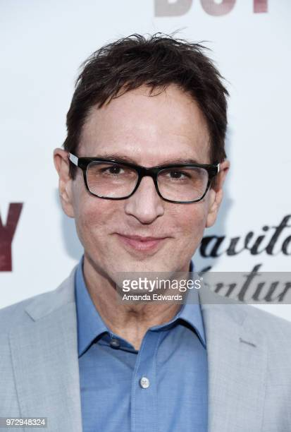 Casting director Robert J Ulrich arrives at the Los Angeles premiere of 'Billy Boy' at the Laemmle Music Hall on June 12 2018 in Beverly Hills...