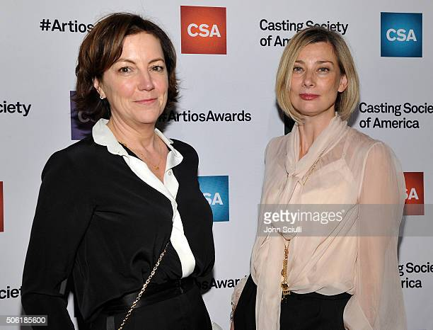 Casting Directors Nina Gold and Fiona Weir arrive for the Casting Society of America's 31st Annual Artios Awards at The Beverly Hilton Hotel on...