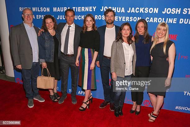 Casting directors Ross Meyerson Julie Tucker actors Josh Stamberg Ruth Wilson Joshua Jackson Maura Tierney executive producer Anya Epstein and...