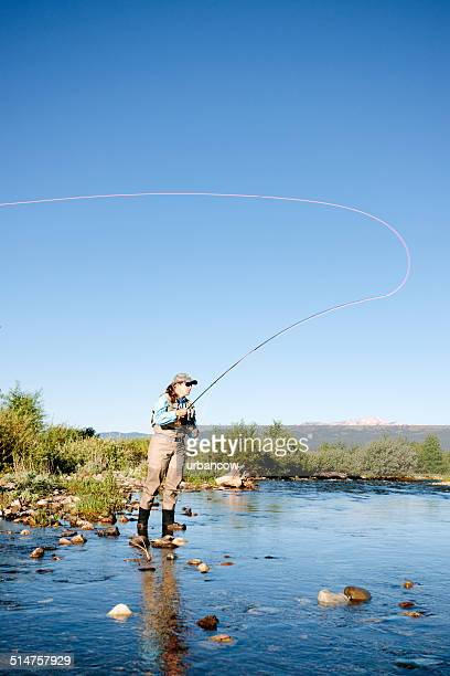 Casting, fly fishing