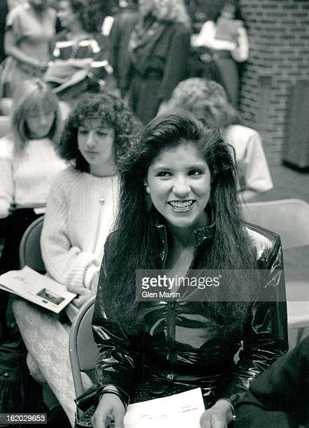 MAR 12 1988 Casting for the 'New Angels' for the remake of Charlies Angels Esther Quintana