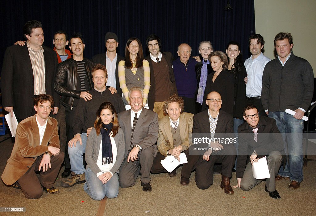 MCC Benefit at the Circle in the Square Theatre in New York City - December 5, 2005 : News Photo