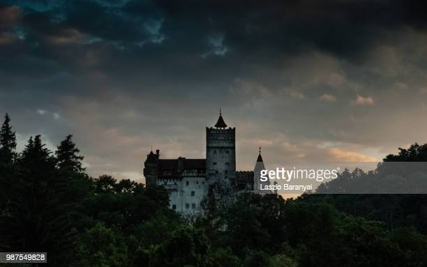 castle bran - romania stock pictures, royalty-free photos & images