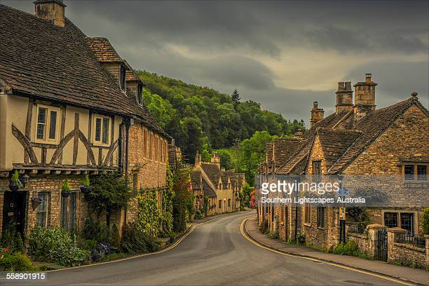 Castle Combe street view