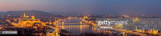 Castle Hill Chain Bridge Parliament St Stephen's Basilica in Budapest