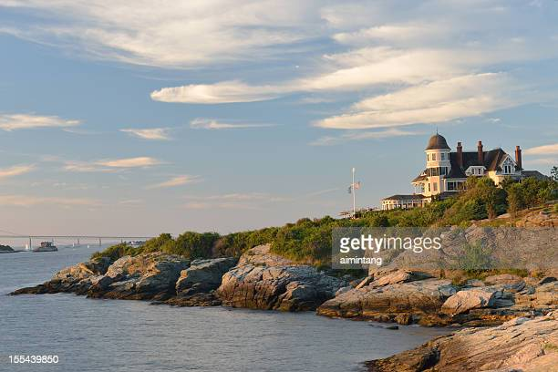 castle hill inn - newport rhode island stock pictures, royalty-free photos & images