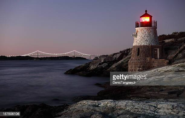 Castle Hill Lighthouse in Newport