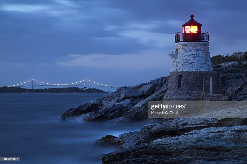 Castle Hill Lighthouse : Stock Photo