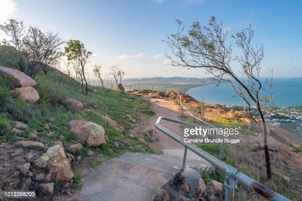 キャッスルヒル展望台, タウンズビル, オーストラリア - クイーンズランド州タウンズビル ストックフォトと画像
