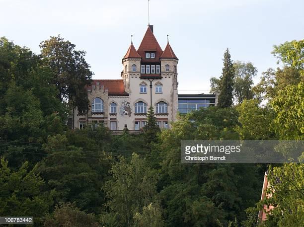 Castle 'Hohentuebingen' in August 2009.