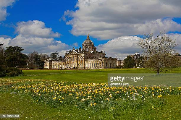 """Castle Howard is a stately home in North Yorkshire. It is familiar to television and film audiences as the fictional """"Brideshead"""" was filmed there..."""