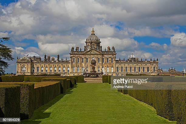 "Castle Howard is a stately home in North Yorkshire. It is familiar to television and film audiences as the fictional ""Brideshead"" was filmed there..."