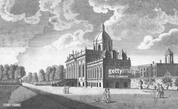 Castle Howard, North Yorkshire, 18th century. 'The seat of the Earl of Carlisle, New Malton'. Castle Howard was built between 1699 and 1712 to...