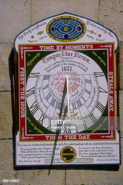 castle howard sundial - malton stock pictures, royalty-free photos & images